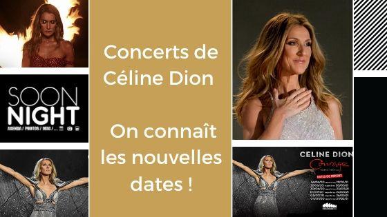 Concerts de Céline Dion : On connaît les nouvelles dates !