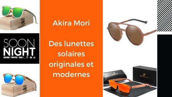 Akira Mori : Des lunettes solaires originales et modernes