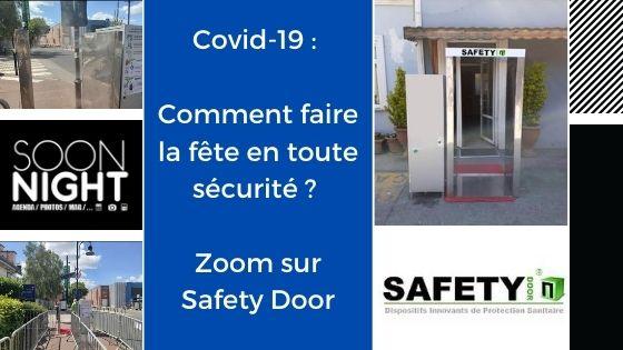 Covid-19 : Comment faire la fête en toute sécurité ? Zoom sur Safety Door