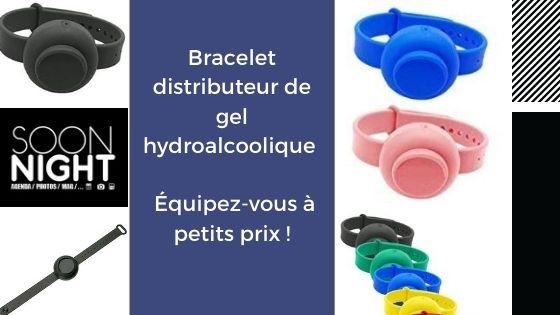Bracelet distributeur de gel hydroalcoolique : Équipez-vous à petits prix !