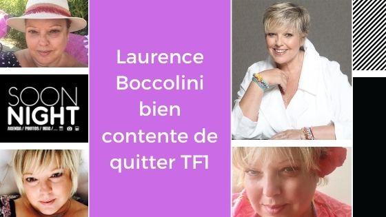 Laurence Boccolini bien contente de quitter TF1