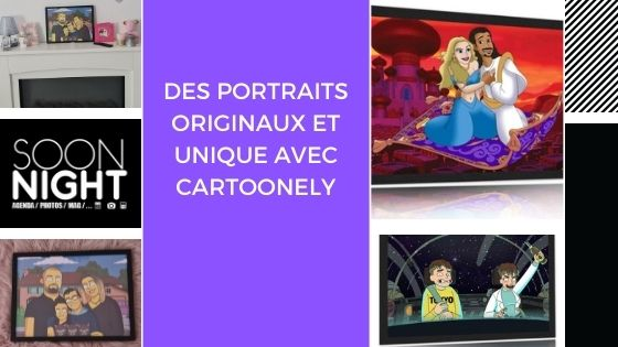 Des portraits originaux et unique avec cartoonely