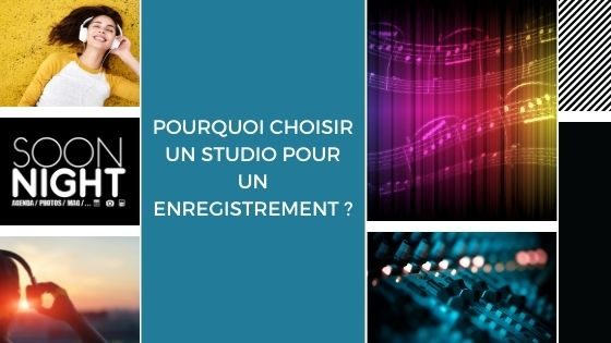 Pourquoi choisir un studio pour un enregistrement ?