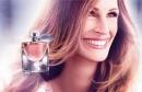 Julia Roberts, égérie du nouveau parfum de lancome.