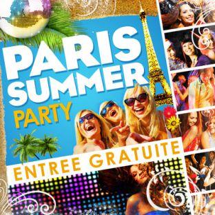 Soirée clubbing PARIS SUMMER PARTY  Samedi 03 septembre 2016