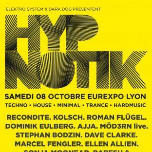 Festival Hypnotik Festival 2016 Samedi 08 octobre 2016