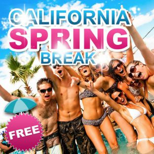 Soirée clubbing SPRING BREAK 'California Party'  Samedi 21 janvier 2017
