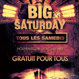Soirée clubbing BIG SATURDAY (GRATUIT POUR TOUS) - CLUB DEMENTIEL Samedi 03 decembre 2016
