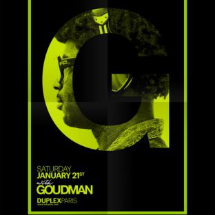 Soirée clubbing Les Amis Du Samedi - DJ Goudman Samedi 21 janvier 2017