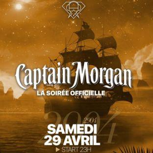 Soirée clubbing CAPTAIN MORGAN Samedi 29 avril 2017