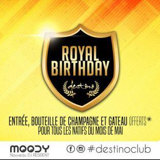Soirée clubbing ♛ Royal Birthday MAI ♛ Samedi 27 mai 2017