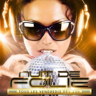 Soirée clubbing NUIT DE FOLIE SUR LES TOITS DE PARIS (CLUB INTERIEUR + TERRASSE GEANTE) Vendredi 30 juin 2017