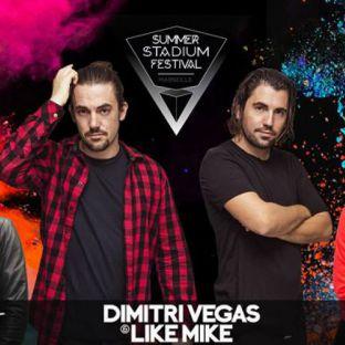 Festival SUMMER STADIUM FESTIVAL Samedi 01 juillet 2017