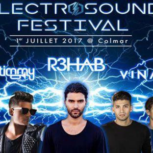 Festival ElectroSound Festival 2017 Samedi 01 juillet 2017