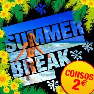 Soirée clubbing SUMMER BREAK [ Consos 2€ ] Vendredi 28 juillet 2017