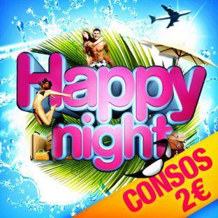 Soirée clubbing HAPPY NIGHT [ Consos 2€ ] Samedi 29 juillet 2017