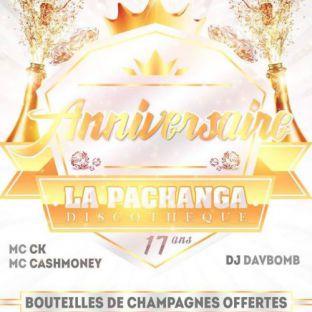 Soirée clubbing 17ème Anniversaire - La Pachanga Vendredi 21 juillet 2017