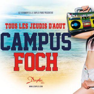 Soirée étudiante CAMPUS FOCH Jeudi 17 aout 2017