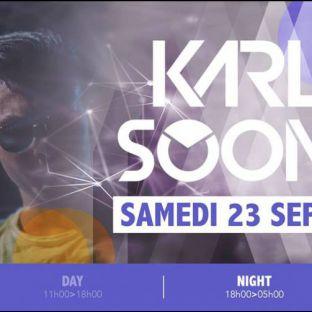 Soirée clubbing CLUB Session avec // Karl SOON Samedi 23 septembre 2017