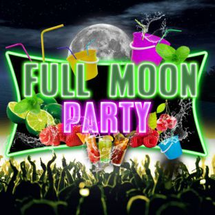 Soirée clubbing FULL MOON 'Bucket Party'  Vendredi 23 mars 2018