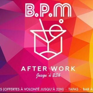 After Work LES AFTER WORK by BPM Jeudi 24 mai 2018