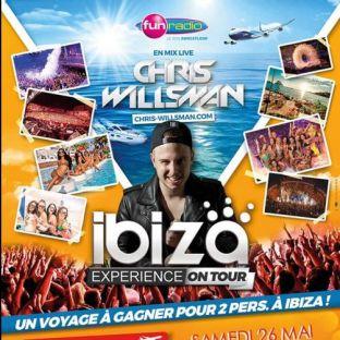Soirée clubbing IBIZA EXPERIENCE ON TOUR Samedi 26 mai 2018