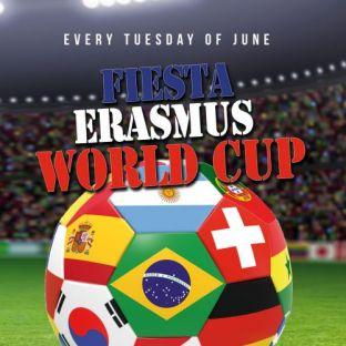 Soirée étudiante FIESTA ERASMUS - WORLD CUP Mardi 26 juin 2018