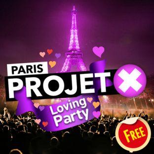 Soirée clubbing PROJET X Loving Party : GRATUIT Vendredi 14 decembre 2018