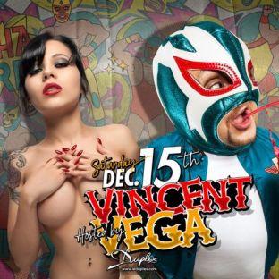 Soirée clubbing DJ Vincent Vega live set Samedi 15 decembre 2018