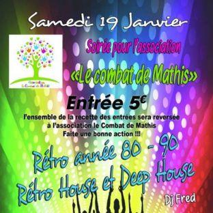 Soirée clubbing Soirée pour l'association  Samedi 19 janvier 2019