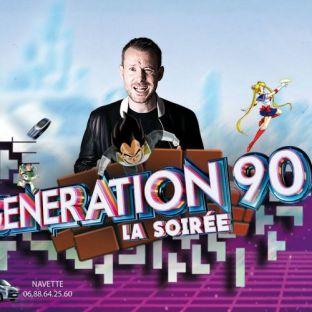 Soirée clubbing Génération 90 by Dj Mast Samedi 23 fevrier 2019