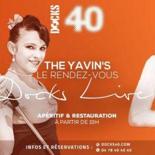 Soirée clubbing Le rendez-vous Docks Live avec The Yavin's Mercredi 27 fevrier 2019