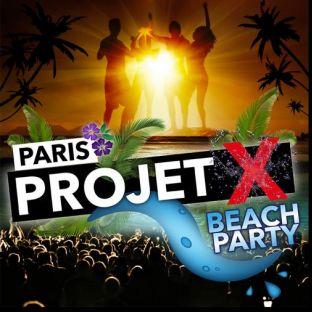 Soirée clubbing PROJET X Beach Party : GRATUIT Samedi 27 juillet 2019