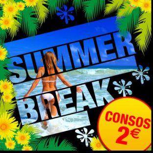 Soirée clubbing SUMMER BREAK [ Consos 2€ ] Vendredi 26 juillet 2019