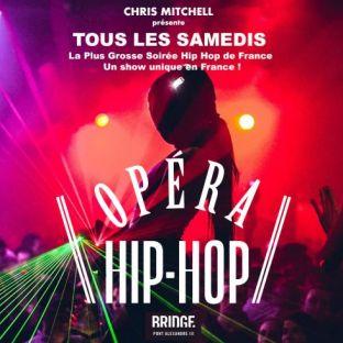 Soirée clubbing L'OPERA HIP HOP - GRATUIT AVEC INVITATION - UN SHOW EXCEPTIONNEL UNIQUE EN FRANCE Samedi 23 mars 2019