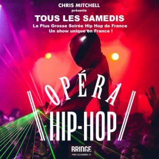 Soirée clubbing L'OPERA HIP HOP - GRATUIT AVEC INVITATION - UN SHOW EXCEPTIONNEL UNIQUE EN FRANCE Samedi 30 mars 2019