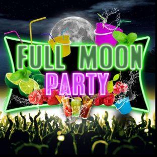 Soirée clubbing FULL MOON 'Bucket Party' : GRATUIT Vendredi 22 Novembre 2019