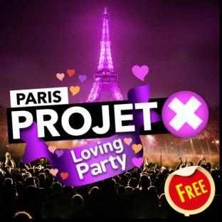 Soirée clubbing PROJET X Loving Party : GRATUIT Samedi 28 septembre 2019