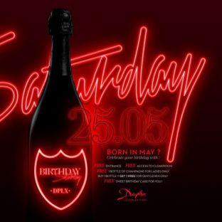 Soirée clubbing BIRTHDAY SATURDAY  Samedi 25 mai 2019
