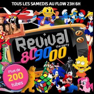 Soirée clubbing ANNÉES 80-90-00 REVIVAL PARTY AU FLOW BATEAU CLUB ROOFTOP GEANT Samedi 19 octobre 2019