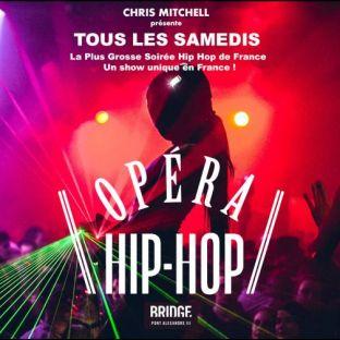 Soirée clubbing L'OPERA HIP HOP (SAISON 2) / GRATUIT SUR INVITATION A TELECHARGER / UN SHOW UNIQUE EN FRANCE Samedi 28 septembre 2019