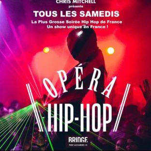 Soirée clubbing L'OPERA HIP HOP (SAISON 2) / GRATUIT SUR INVITATION A TELECHARGER / UN SHOW UNIQUE EN FRANCE Samedi 23 Novembre 2019