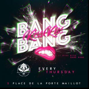 Soirée clubbing KISS KISS BANG BANG by CUPIDON (GRATUIT AVEC INVITATION A TELECHARGER) Jeudi 17 octobre 2019