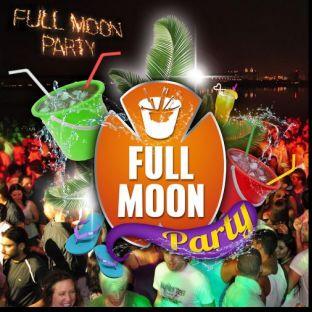 Soirée clubbing FULL MOON 'Bucket Party' : GRATUIT Vendredi 24 janvier 2020