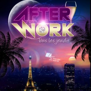 After Work AFTER WORK JEUDI SUR LES TOITS DE PARIS (ROOFTOP / TAPAS / MOJITOS) Jeudi 17 octobre 2019