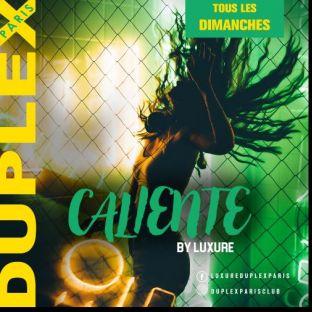 Soirée clubbing CALIENTE by LUXURE Dimanche 24 Novembre 2019