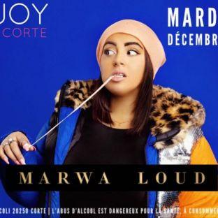 Concert #ENJOY ???? ÉVENT | MARWA LOUD Mardi 17 decembre 2019