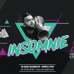 Soirée clubbing Insomnie - Mab Drum Vendredi 13 decembre 2019