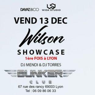 Soirée clubbing WILSON Vendredi 13 decembre 2019
