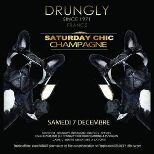 Soirée clubbing ✭☆✭ Saturday CHIC - Champagne ☆✭☆ Samedi 07 decembre 2019